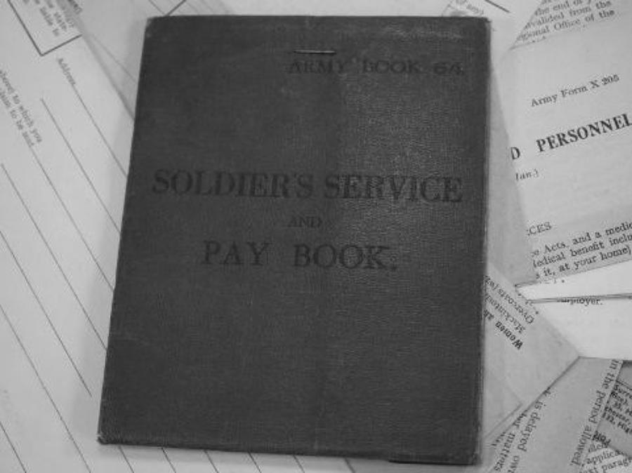 WW1 PAY BOOKS