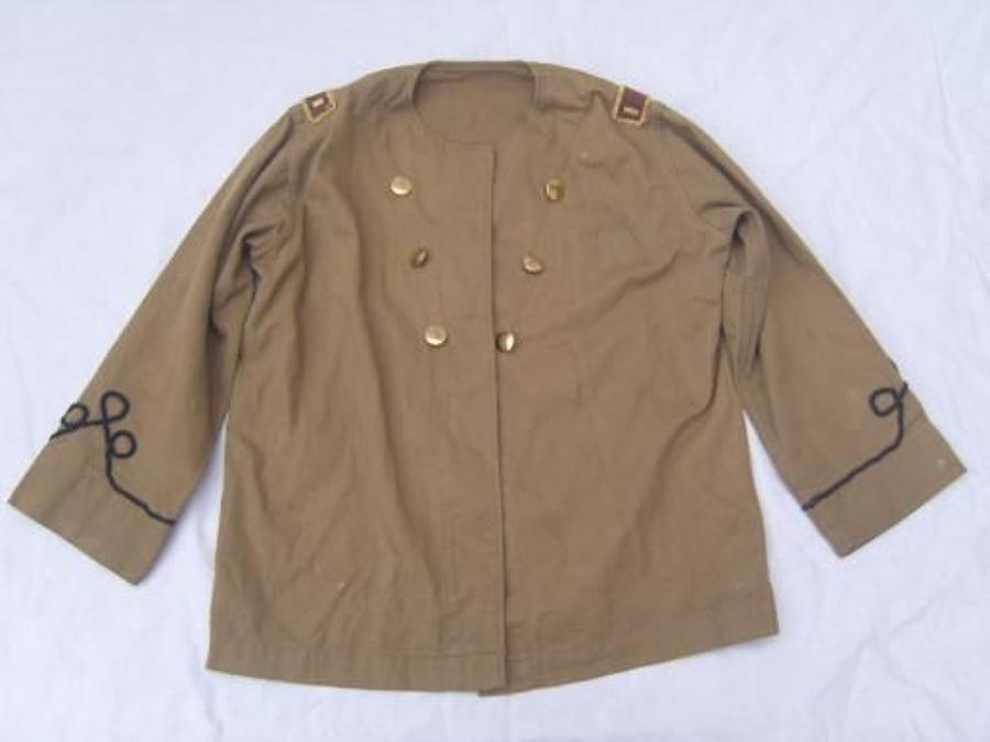 SPANISH AMERICAN WAR PERIOD KHAKI CHILDS OFFICERS TUNIC