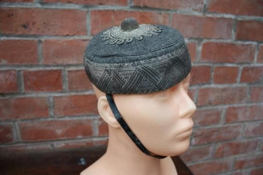 VICTORIAN BRITISH ARMY VOLUNTEERS PILLBOX CAP