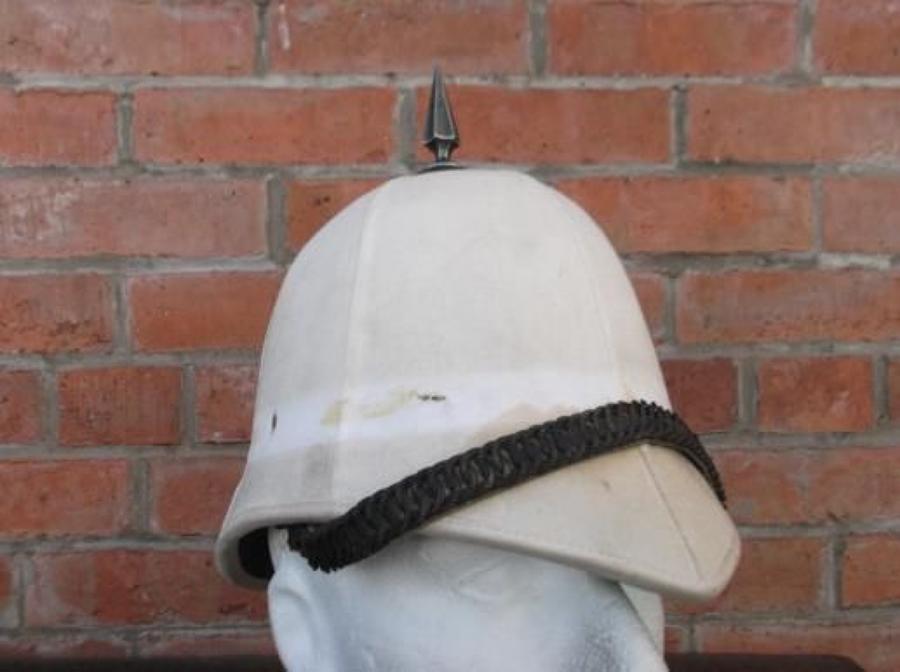BOER WAR BRITISH FOREIGN SERVICE PITH HELMET VICTORIAN