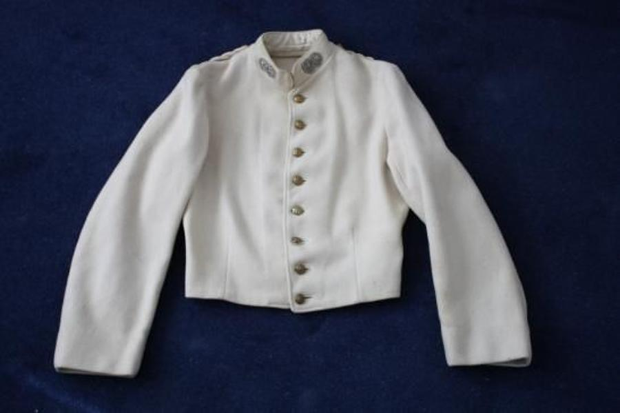 Argyll & Sutherland Highlanders WW1 era White Wool Undress Drill Jacket