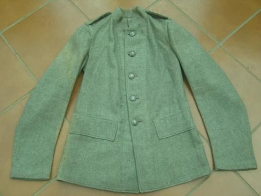 VICTORIAN 13TH MIDDLESEX RIFLE VOLUNTEERS TUNIC