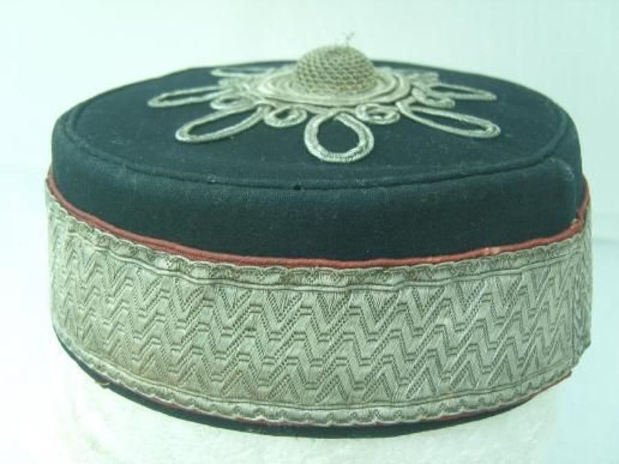 VICTORIAN ROYAL ARTILLERY VOLUNTEERS PILLBOX CAP