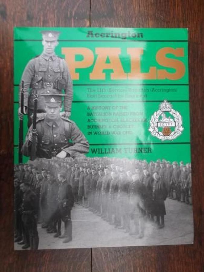 ACCRINGTON PALS PEN & SWORD REFERENCE BOOK.