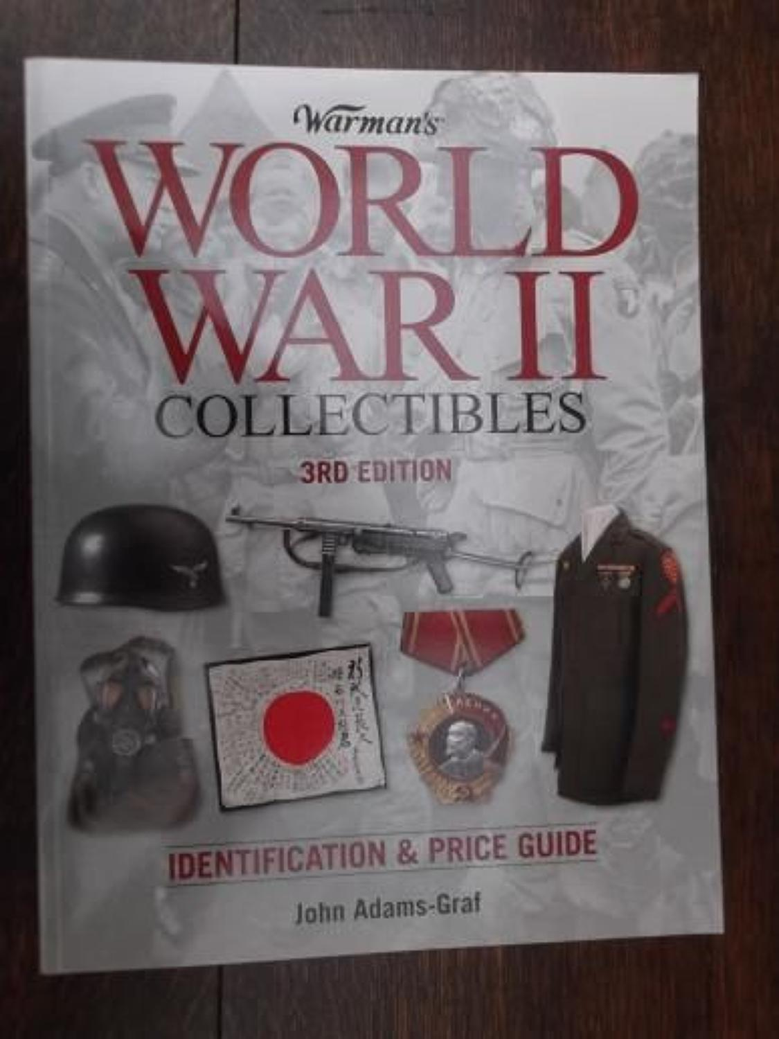 WARMANS WWII COLLECTABLES: IDENTIFICATION & PRICE GUIDE