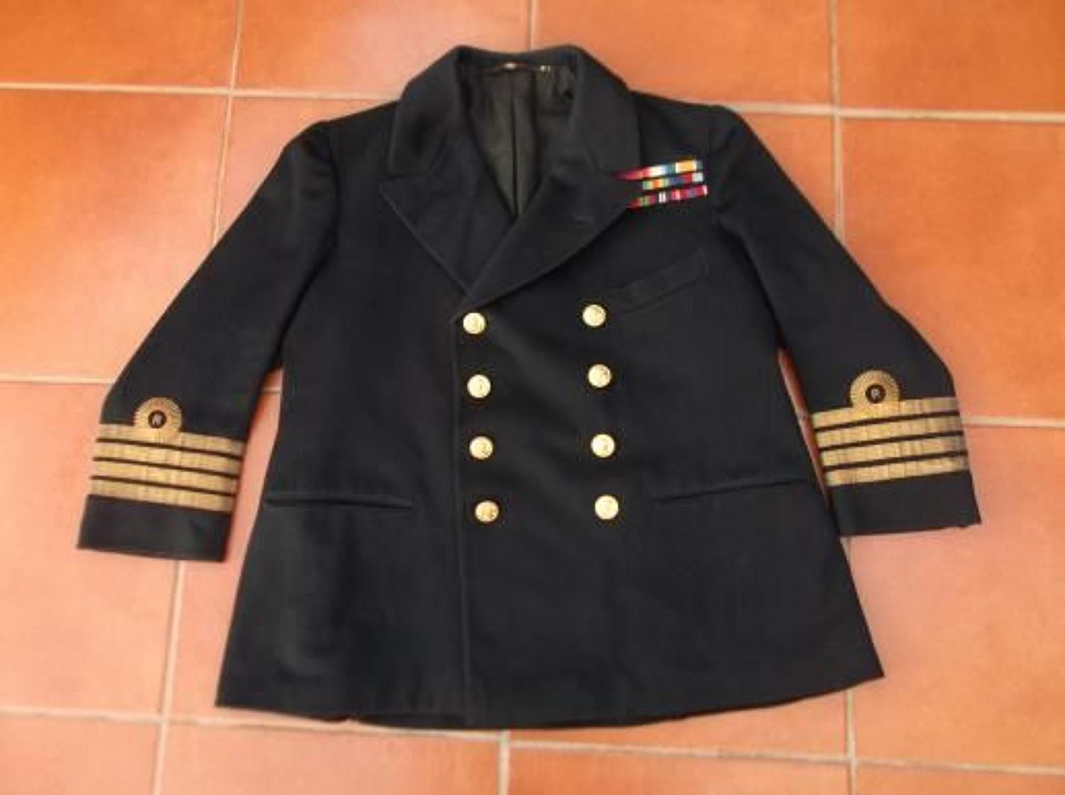 WW1 1917 DATED TUNIC TO ROYAL NAVAL RESERVE OFFICER