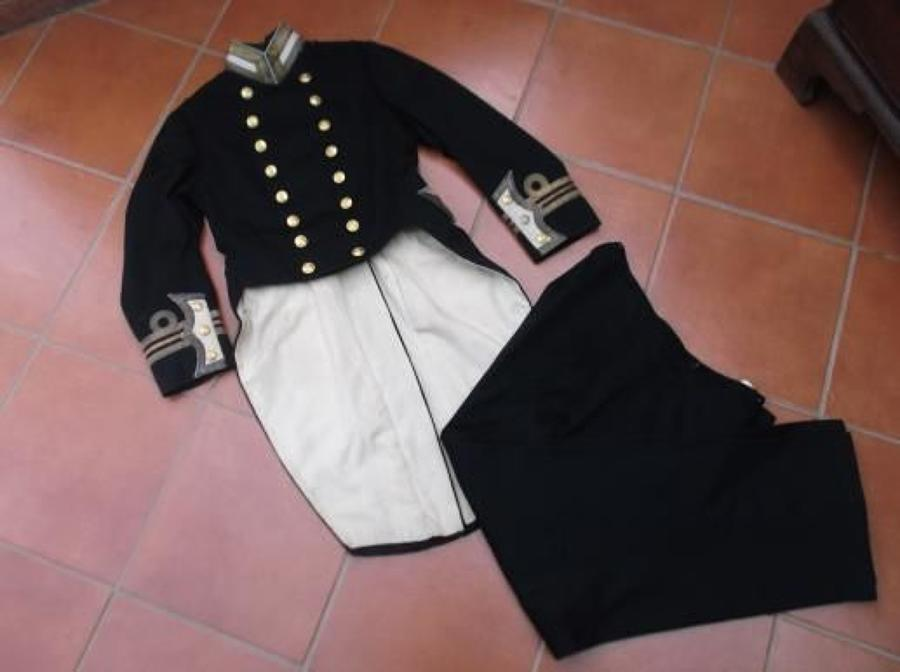 Royal Navy Officer's Pattern 1901 Uniform Jacket and Trousers