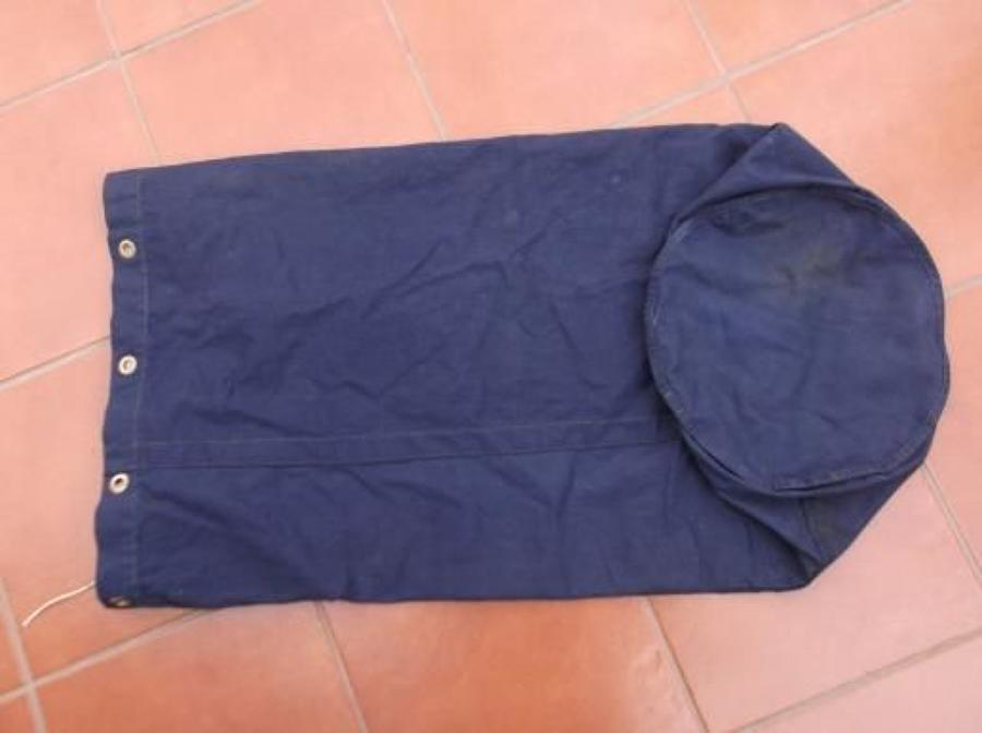 LARGE WW2 ROYAL NAVY 1941 DATED KITBAG