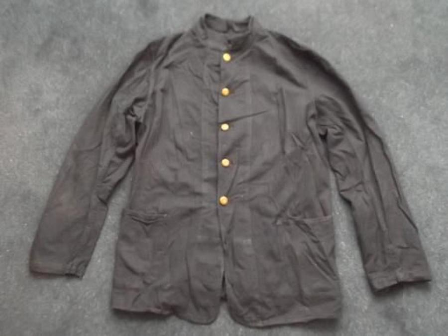 Royal Navy Dark Blue WW2 working jacket.