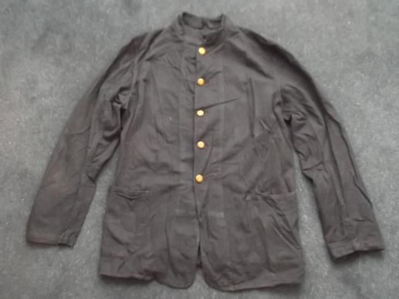 Royal Navy Dark Blue WW2 working jacket.