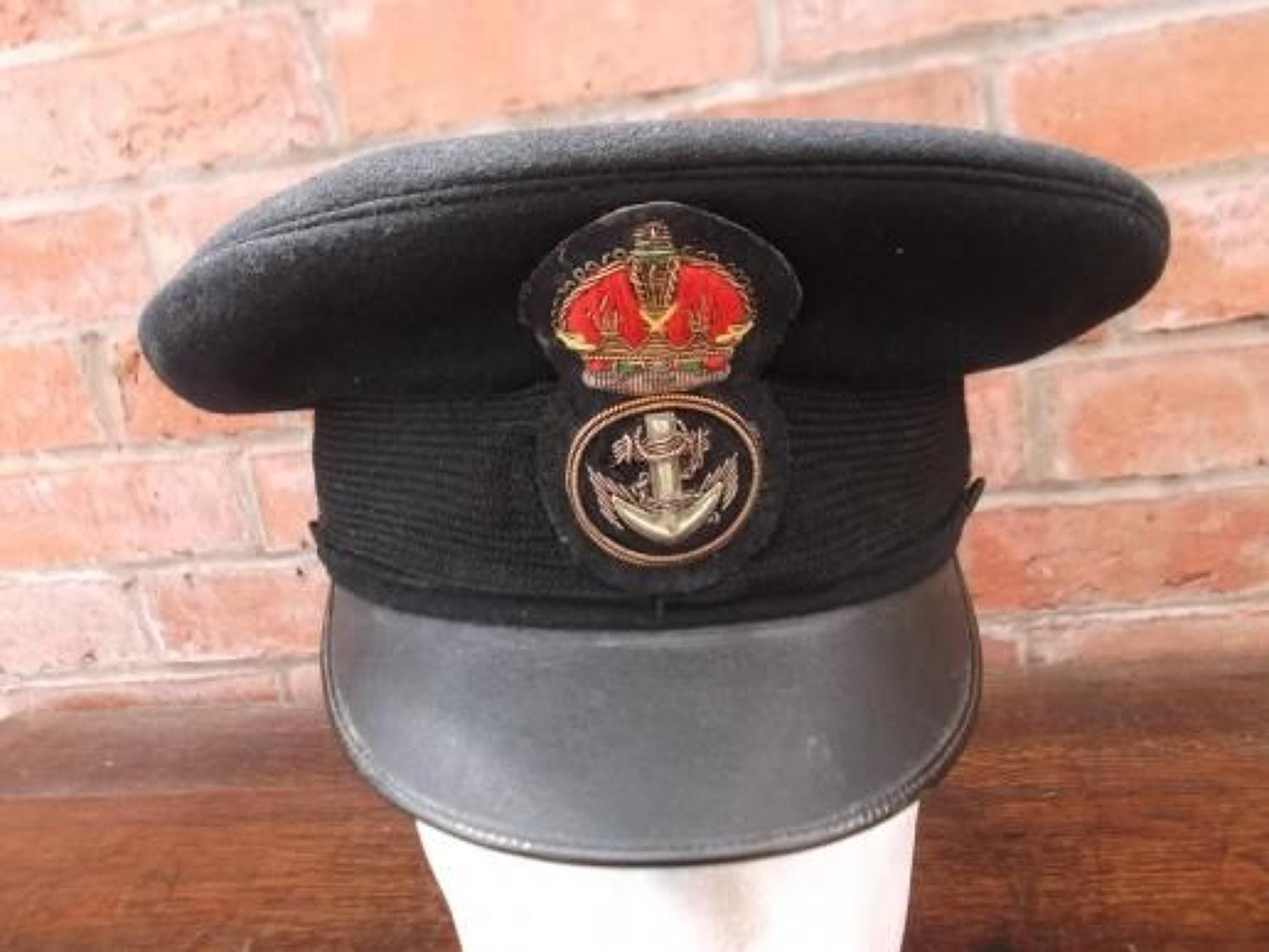 WW1 ROYAL NAVY CHIEF PETTY OFFICERS PEAK CAP