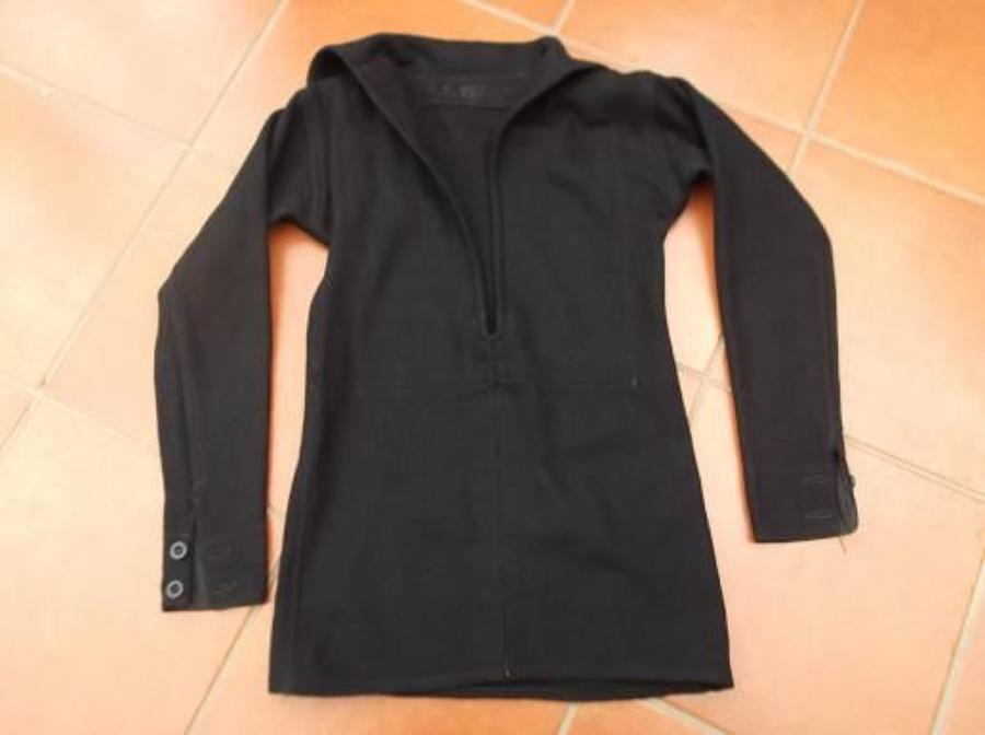 WW2 ROYAL NAVY RATINGS DARK BLUE BLOUSE