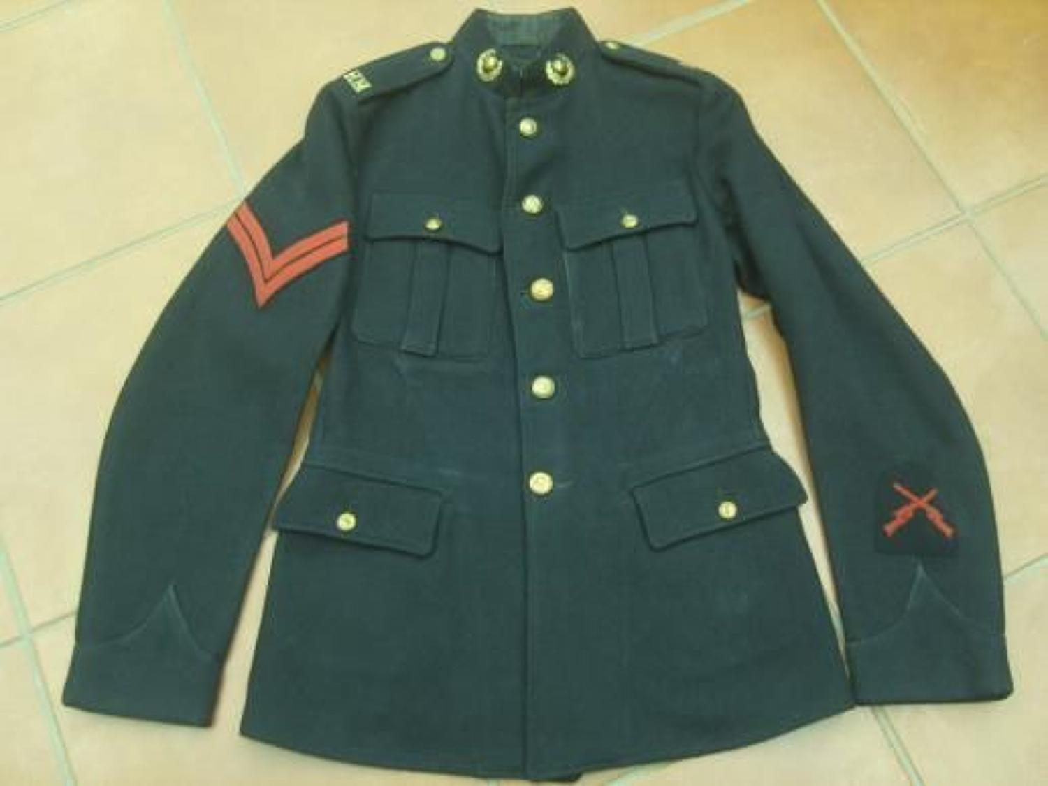 POST WW1 ROYAL MARINE INFANTRY TUNIC
