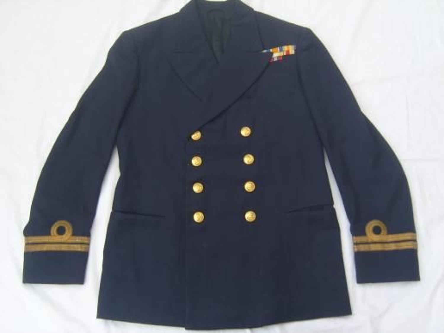 WW2 ROYAL NAVY OFFICERS TUNIC