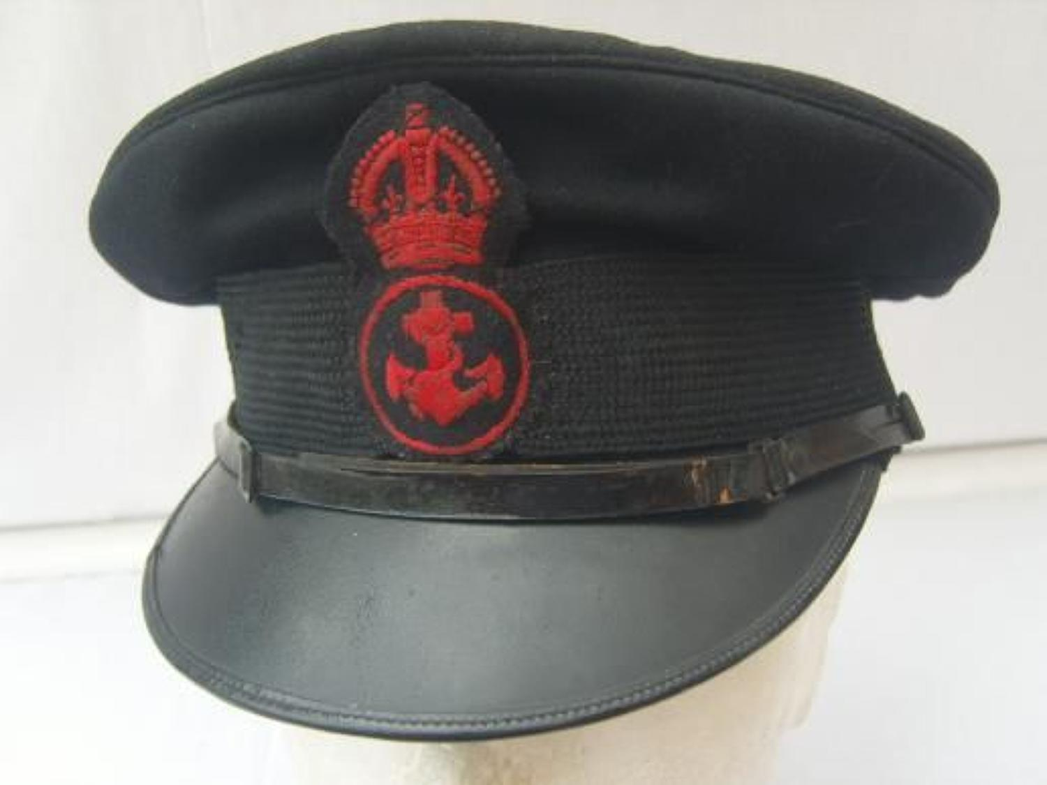 ROYAL NAVY PETTY OFFICERS PEAK CAP