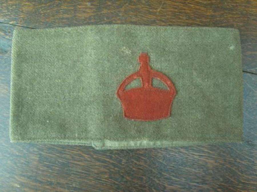 DERBY SCHEME 1915 ATTESTED ARMY ARMBAND