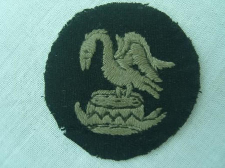 WW1 British Army 30th Division Arm Badge