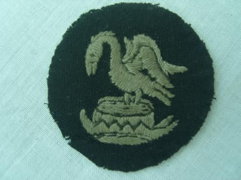 WW1 British Army 30th Division Arm Badge