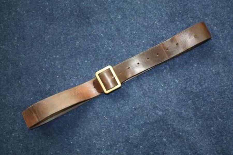 WW1 British '03 Pattern Leather Belt dated 1914