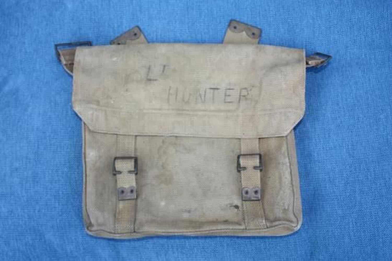 WW1 British '08 Pattern Smallpack. Dated 1914.