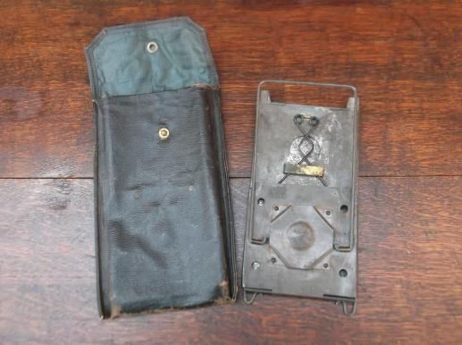 WW1 FOLDING TRENCH LANTERN & CASE