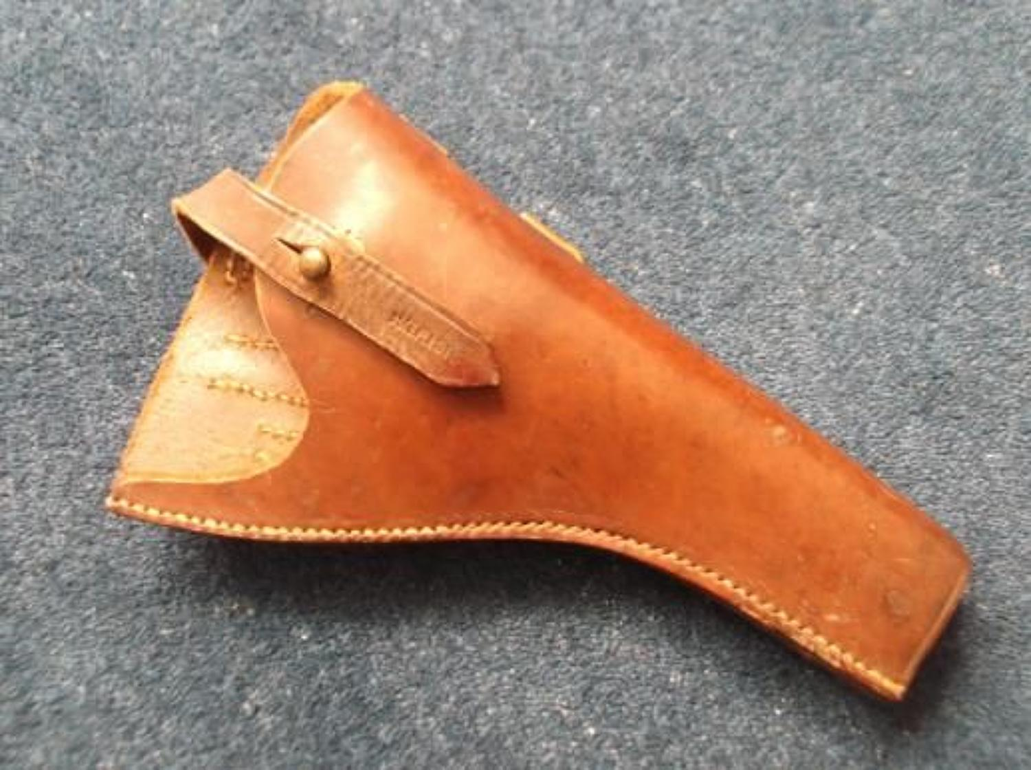 WW1 1916 DATED WEBLEY LEATHER PISTOL HOLSTER