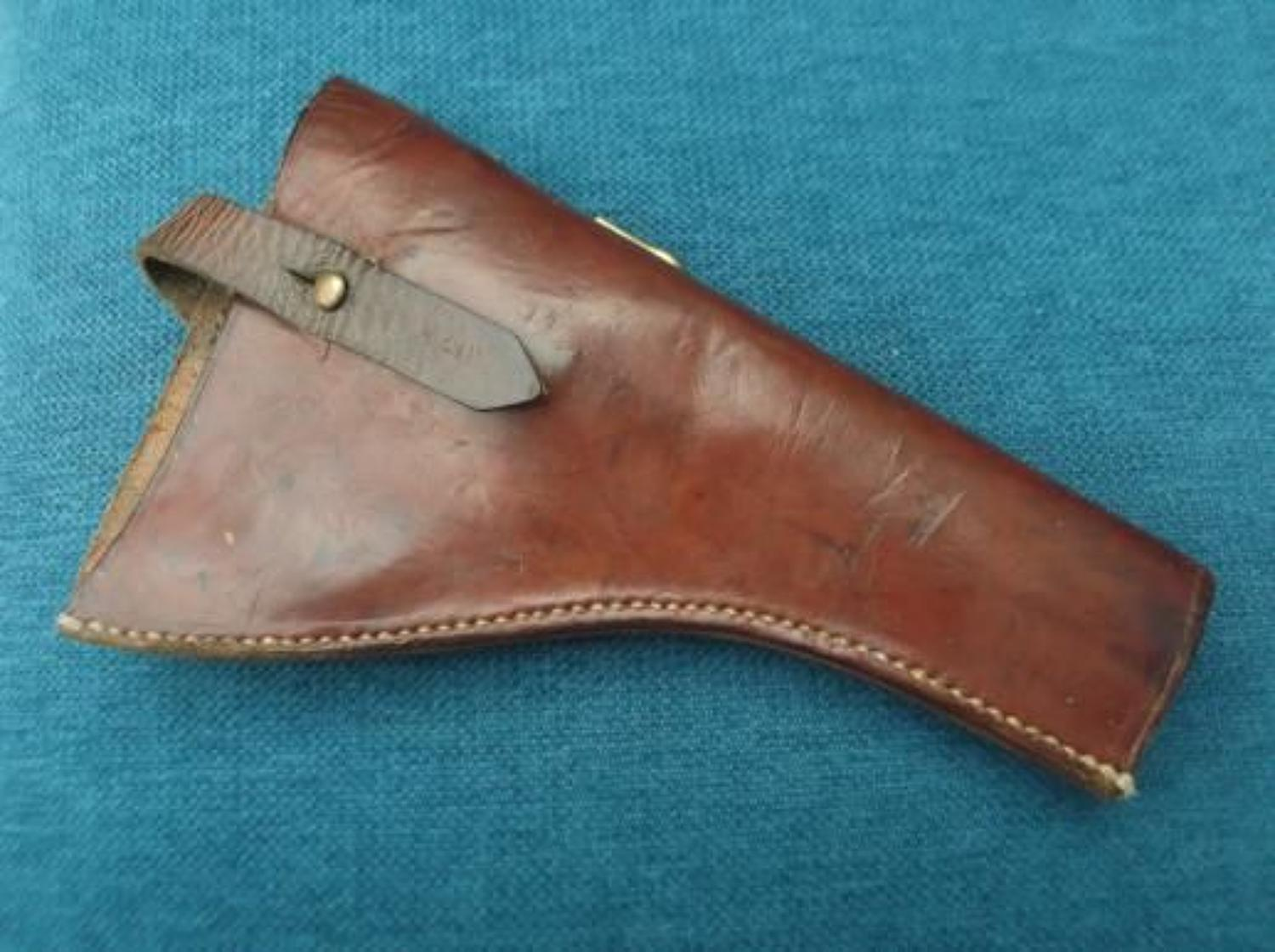 1908 Pattern British Army Leather Revolver Holster 1916