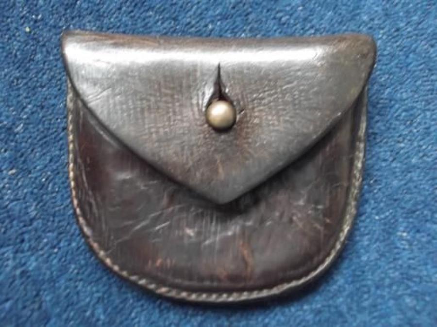 1903 Pattern British Leather Revolver Ammunition Pouch