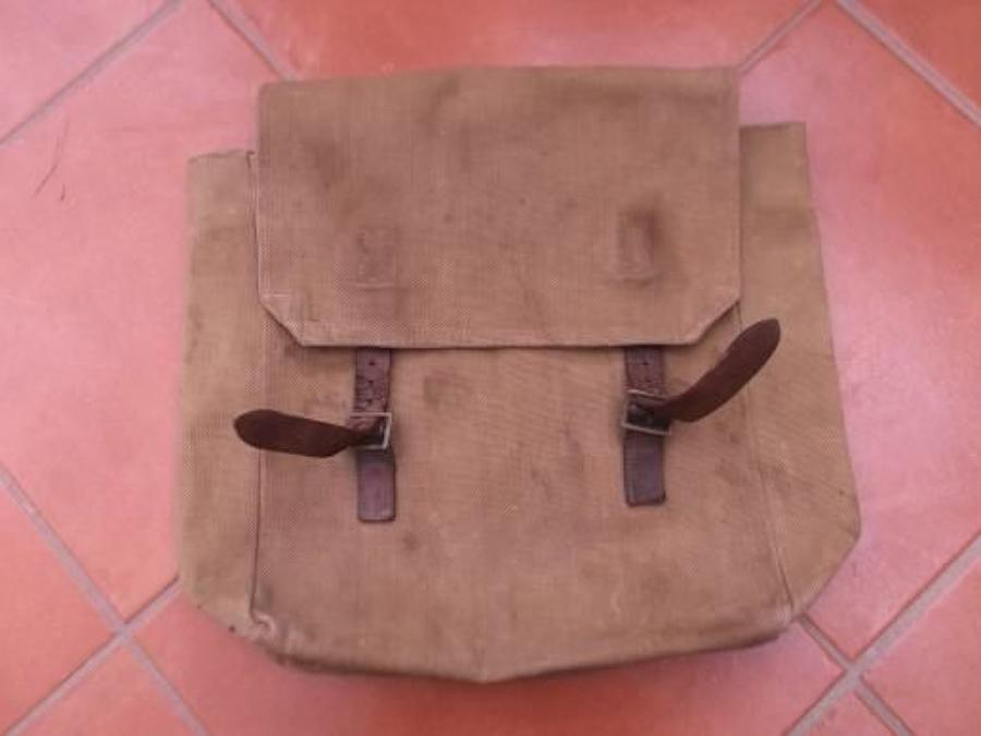 LATE 1914 PATTERN WEBBING LARGE BACKPACK DATED 1919