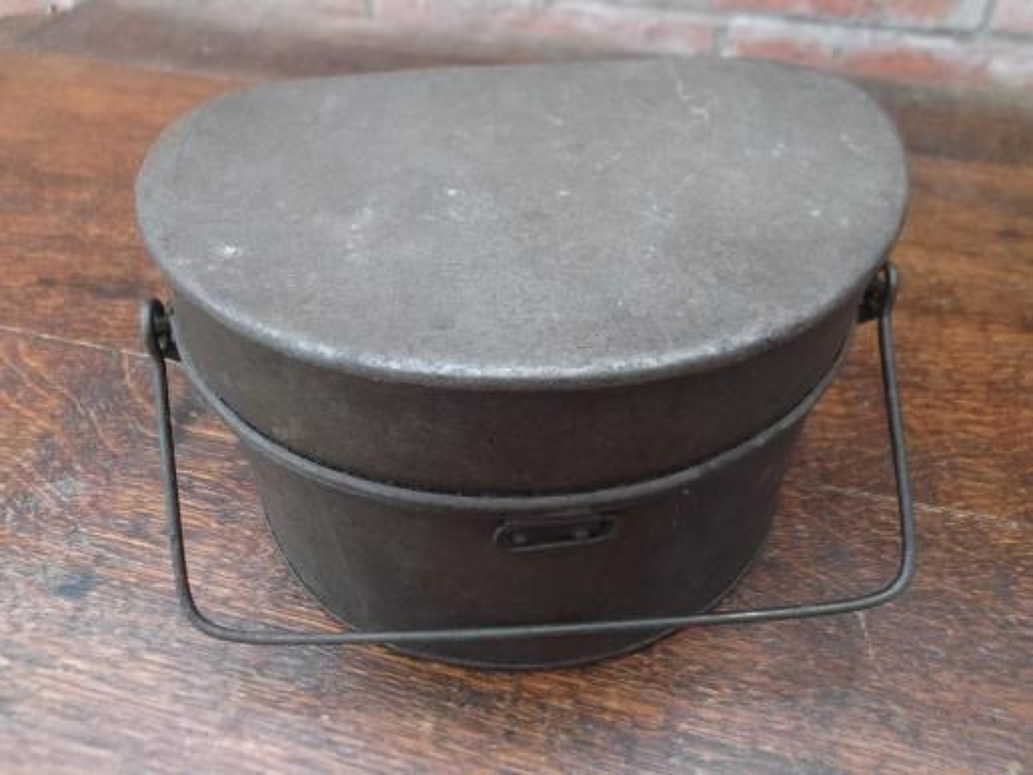 WW1 PATTERN 1917 BRITISH INFANTRY D SHAPE MESS TINS
