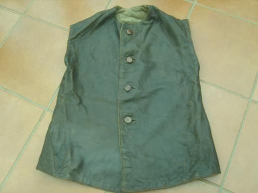 WW1 BRITISH/CANADIAN ARMY LEATHER JERKIN