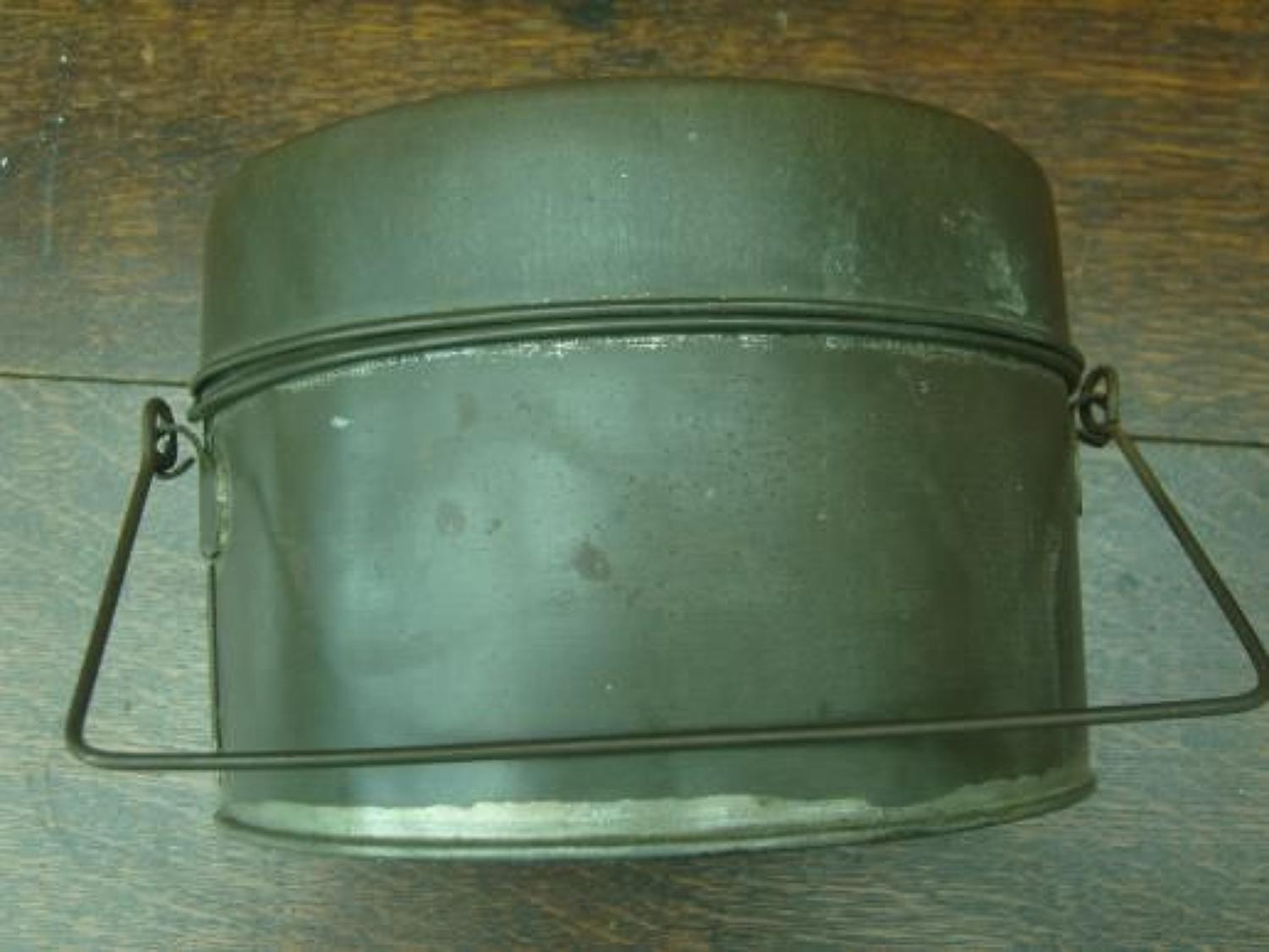 WW1 PATTERN BRITISH INFANTRY MESS TINS