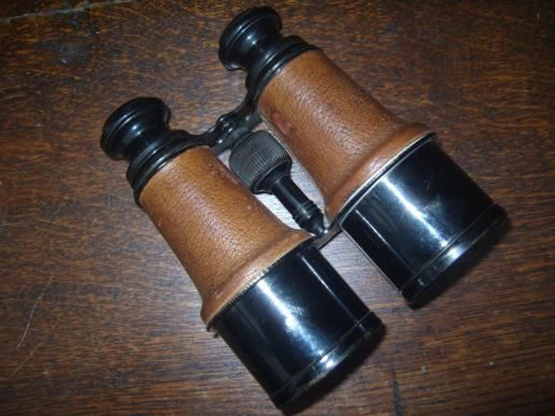 War Office marked clean WW1 Officers binoculars.