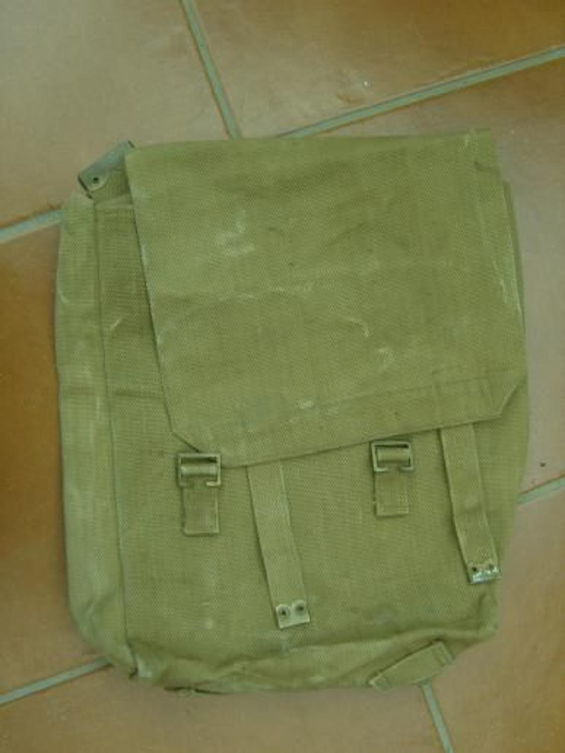 1908 MILLS WEBBING LARGE BACKPACK DATED 1919