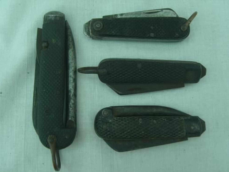 BRITISH ARMY JACK KNIVES