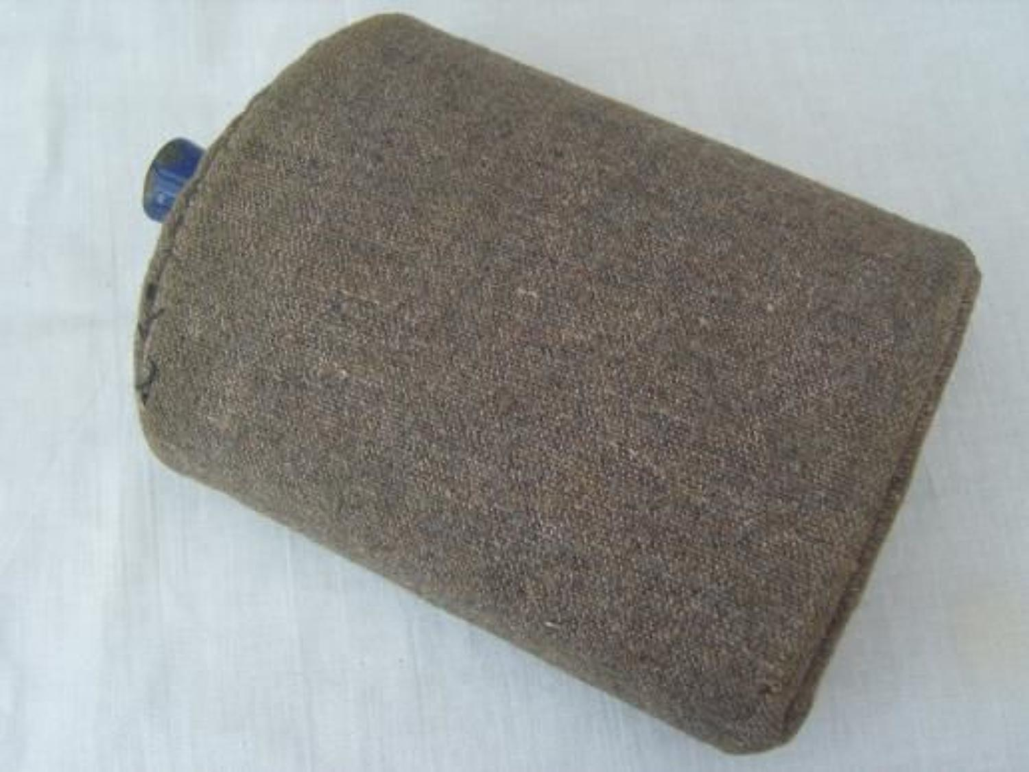 WW1 British Water Bottle and wool cover.
