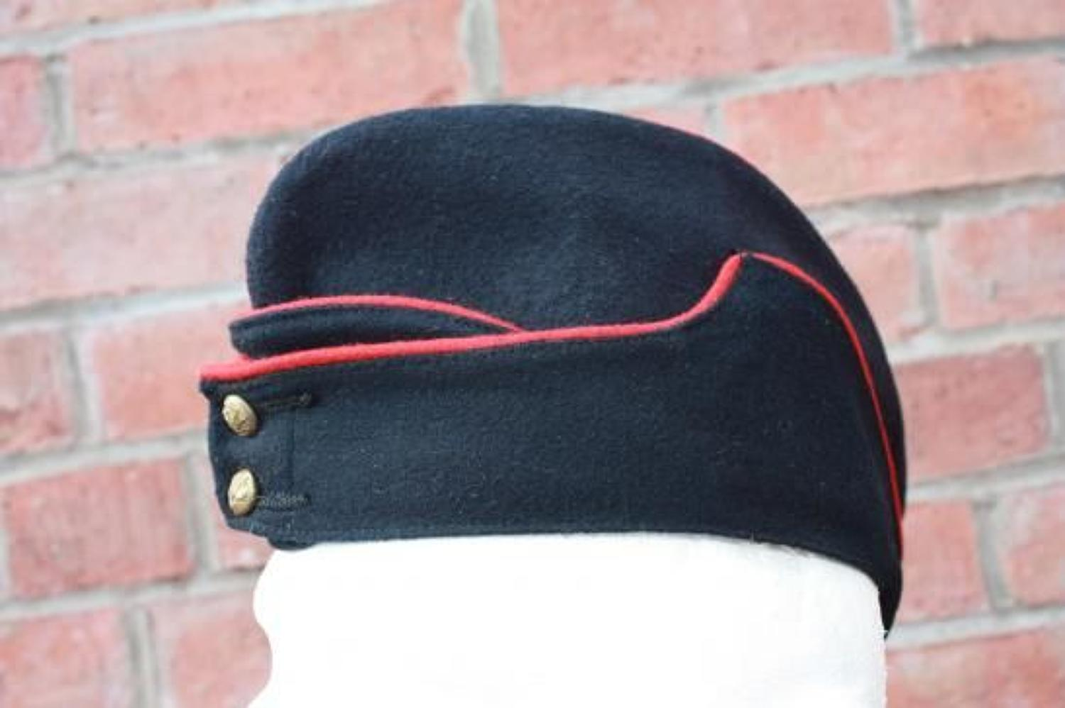 PRE WW1 BRITISH OTHER RANKS 1914 DATED ROYAL ENGINEERS SIDE CAP