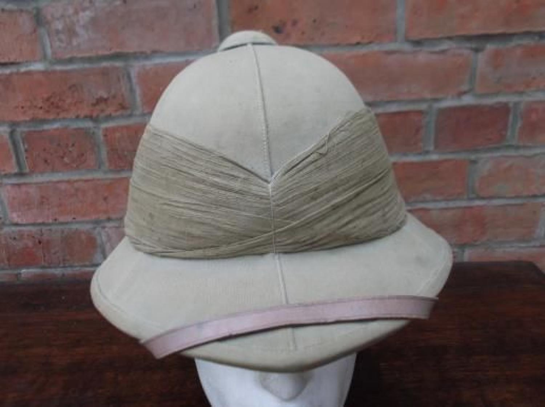 WW1 pattern British khaki Other Ranks Pith sun helmet