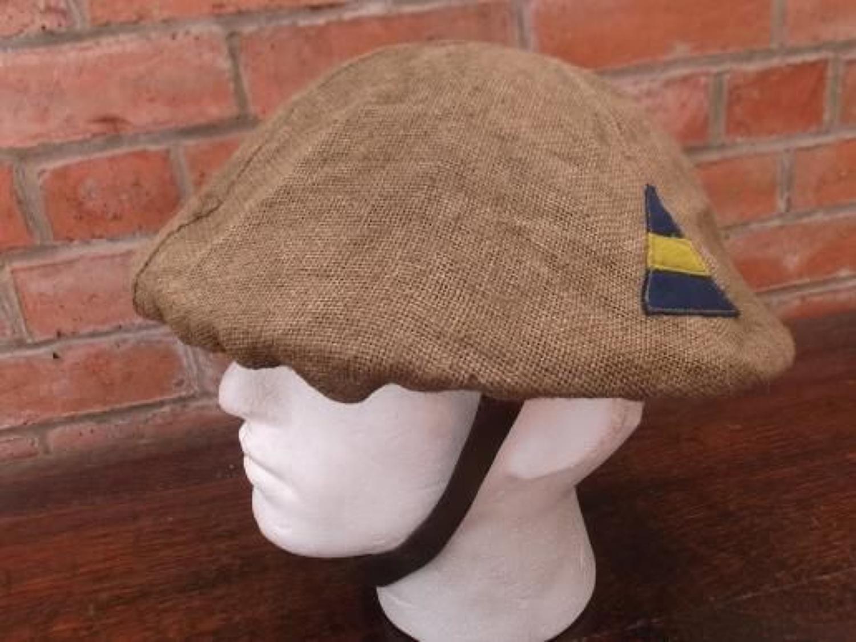 WW1 British Brodie Steel Helmet Divisional Badge & Cover