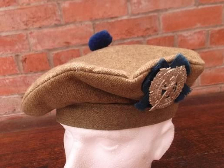 BRITISH ARMY WW1 PATTERN SCOTTISH TAM O SHANTER