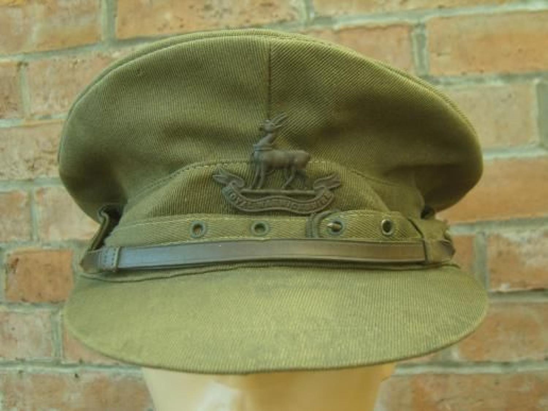 WW1 OFFICER'S 'COR BLIMEY' CAP