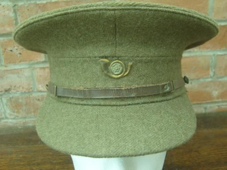 BRITISH WW1 1905 PATTERN OTHER RANKS SERVICE DRESS CAP
