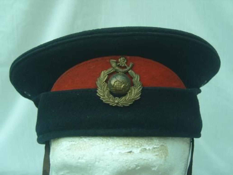 WW1 Royal Marine Light Infantry Broderick Cap.