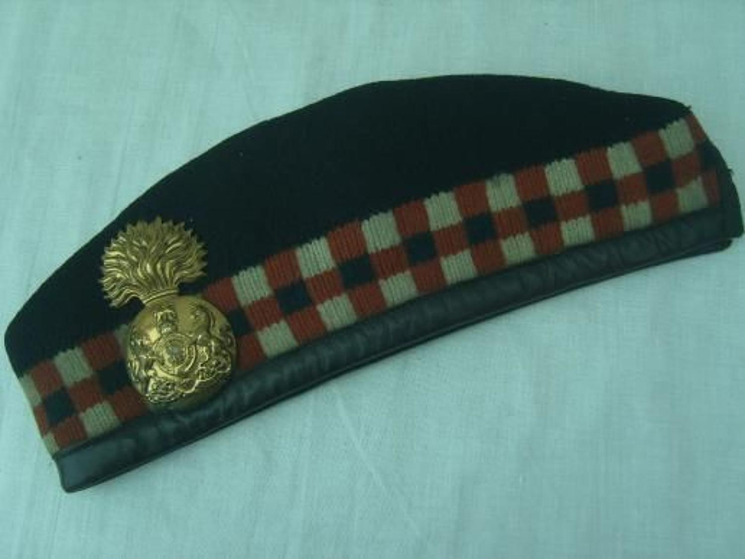 WW1 GLENGARRY: ROYAL SCOTS FUSILIERS