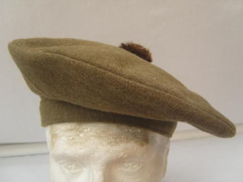 BRITISH ARMY WW1 SCOTTISH TAM O SHANTER