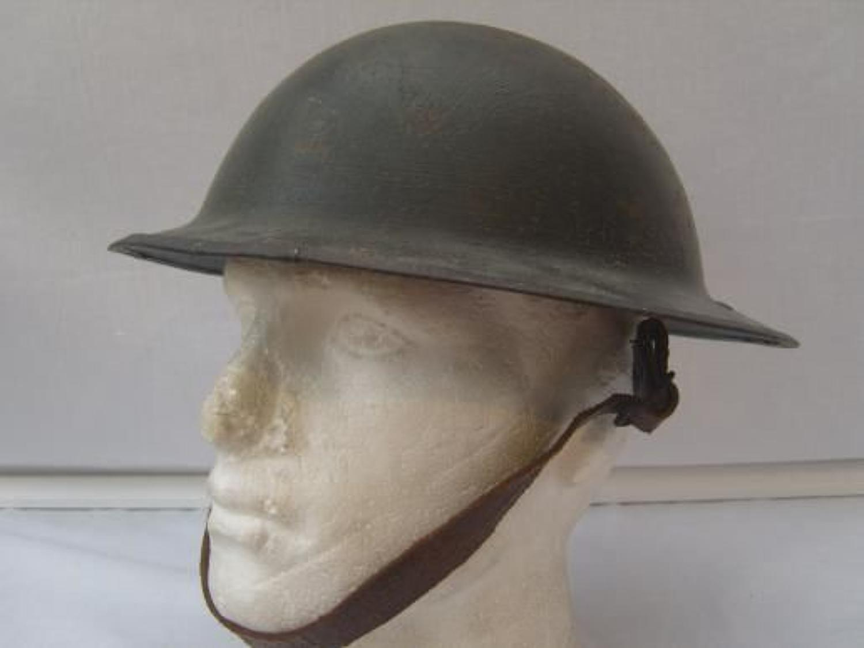 WW1 British Brodie Steel Helmet.