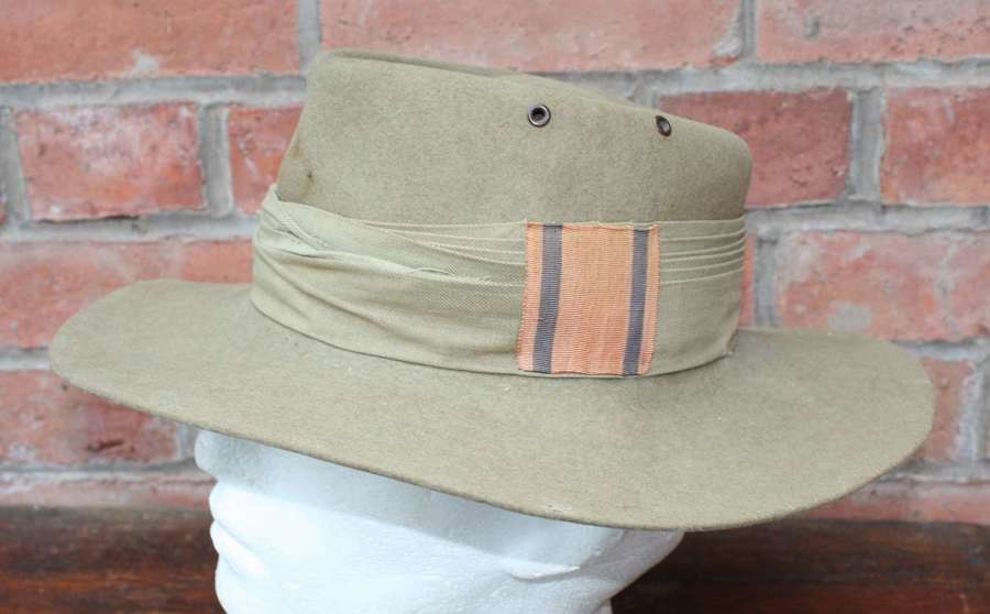 1941 dated British Army Slouch Hat.