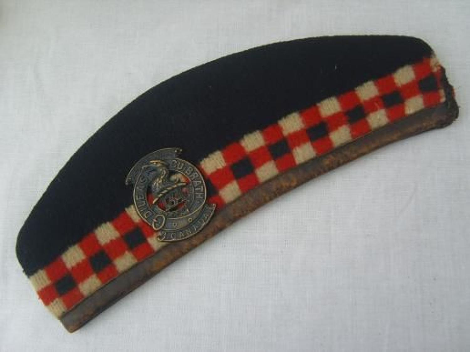 GLENGARRY; 134th BATTALIAN TORONTO HIGHLANDERS