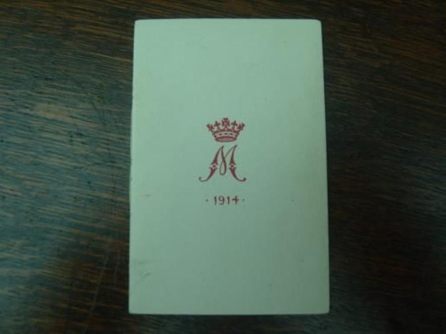 Original 1914 Princess Mary Gift Christmas card
