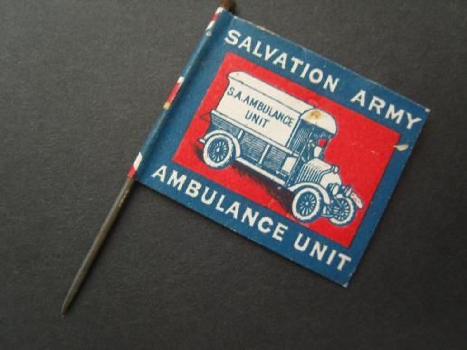 Salvation Army: Ambulance Unit: Home from Home